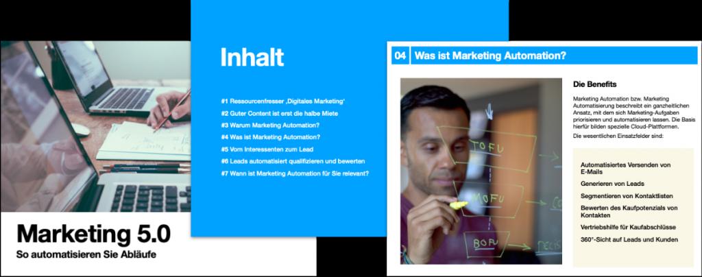Marketing Automation eBook Inhalt